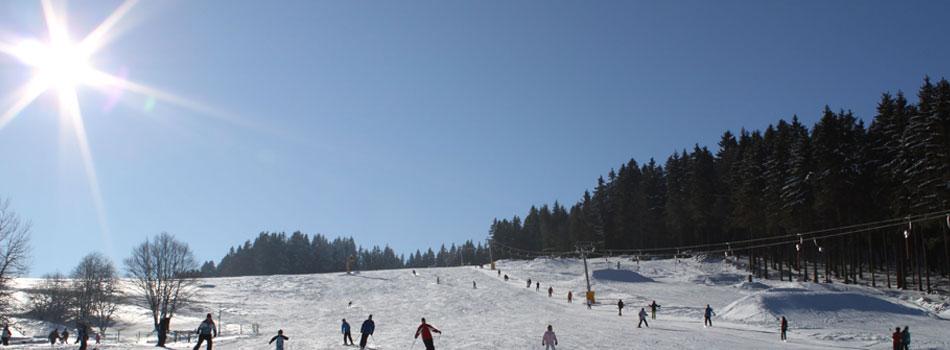 Skilift in Heubach und Masserberg